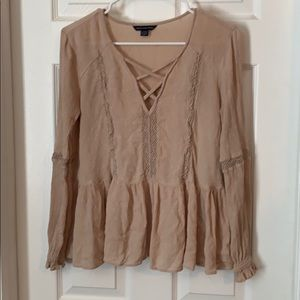 Baby doll top . American eagle
